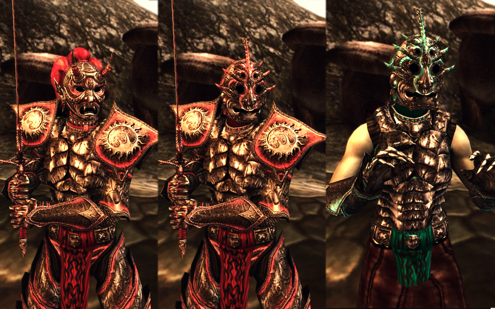 Morrowind Armor Compilation at Skyrim Nexus  mods and